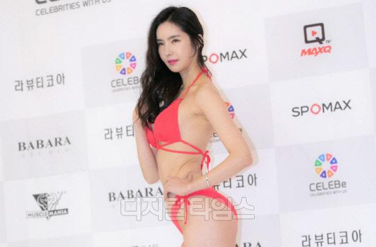 [포토] 배선영, 레드의 유혹